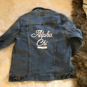 Sorority Jean Jacket